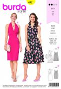 6421  Burda Pattern: Ladies Dress